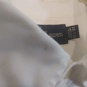 Ralph Lauren Shirts - Ralph Lauren Yarmouth 100% Cotton Oxford White